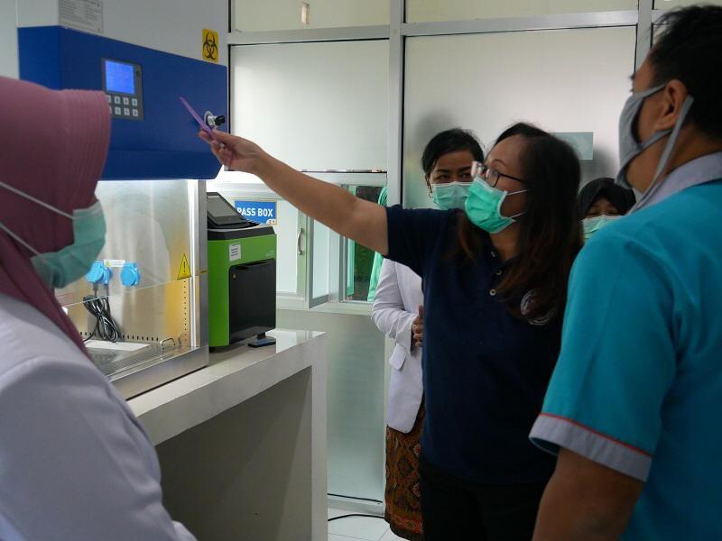 RUMAH SAKIT IMANUDDIN SIAP OPERASIKAN LABORATORIUM PCR 1