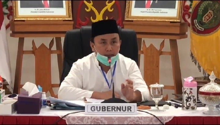 GUBERNUR TANDATANGANI TATANAN BARU NEW NORMAL 1