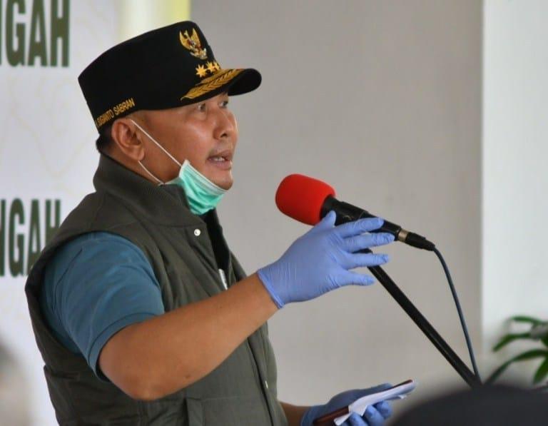 GUBERNUR DUKUNG PEMBANGUNAN LABORATORIUM LEVEL 2 PCR RS TNI AD KALTENG 1