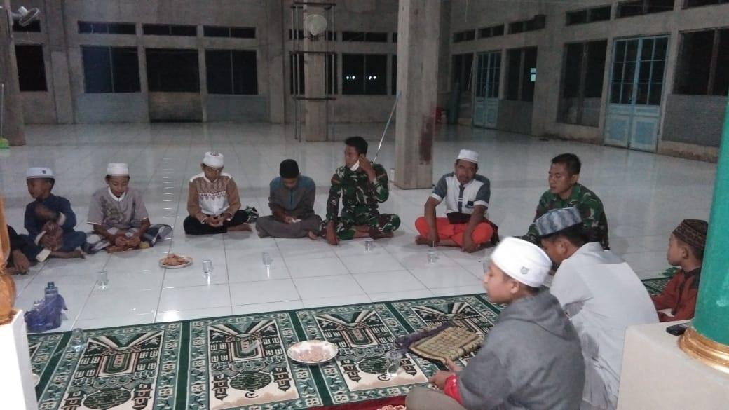 KEGIATAN TMMD JUGA BANGUN SISI RELIGIUS WARGA 1