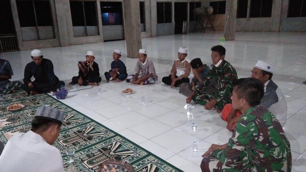 LEWAT KEGIATAN TMMD, TNI BERSAMA MASYARAKAT NGAJI BARENG 1