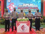HADIRI HARI LALULINTAS BHAYANGKARA KE-65, KAPOLDA LAUNCHING APLIKASI TACS DAN BERIAN REWARD 8