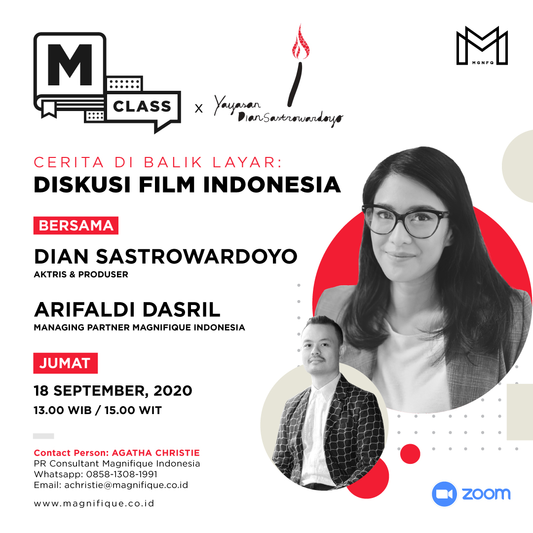 MAGNIFIQUE INDONESIA DAN YAYASAN DIAN SASTROWARDOYO MENGGELAR WEBINAR GRATIS 3
