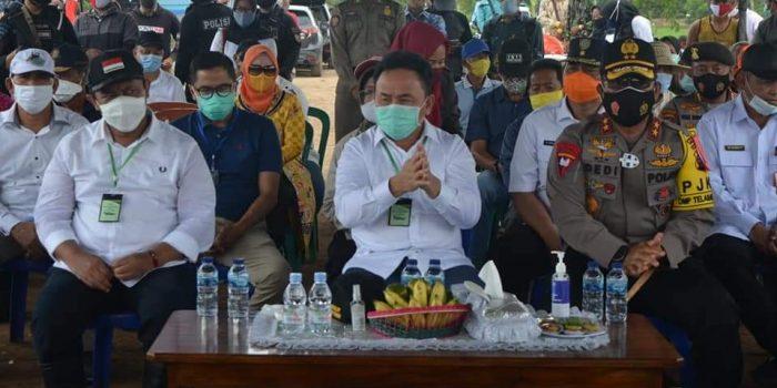GUBERNUR SUGIANTO HADIRI PANEN RAYA DI DESA GADABUNG, PULPIS 6