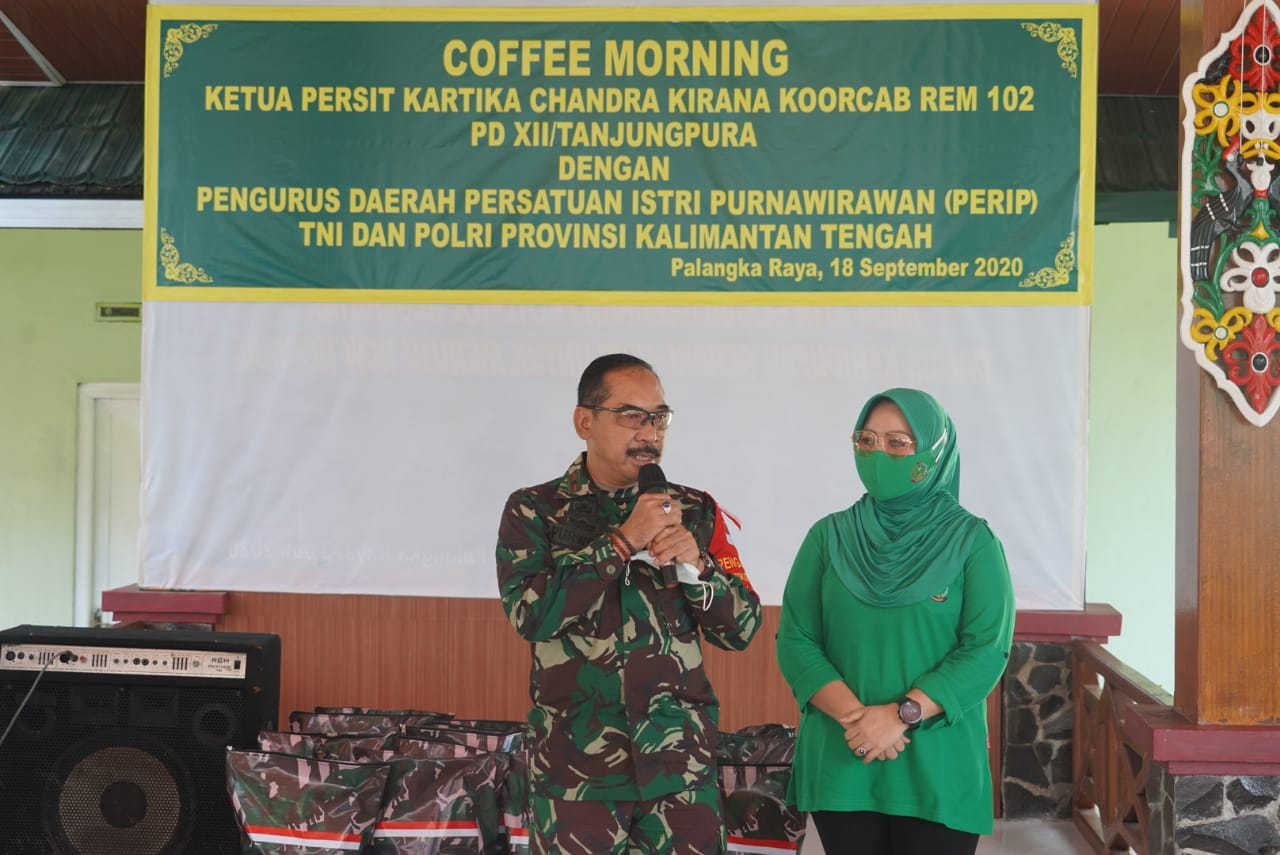 PERSIT KCK KOORCABREM 102 PD XII TPR GELAR COFFE MORNING 1