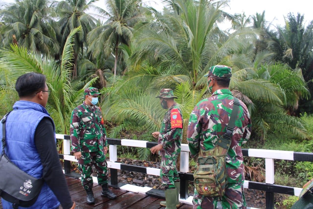 DANDIM APRESIASI SEMANGAT GOTONG-ROYONG TNI DAN MASYARAKAT 1