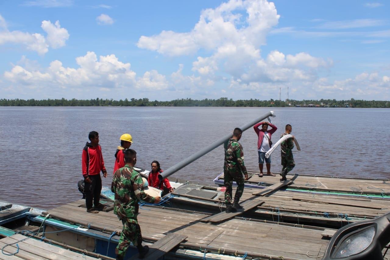 DANDIM : TERIMA KASIH ATAS DUKUNGAN TNI AL 1