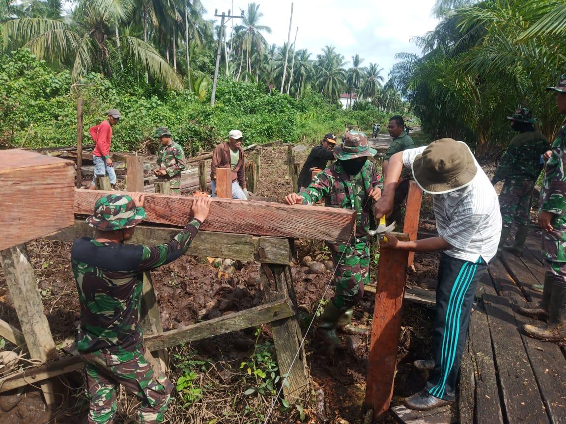 TNI SATGAS TMMD 109 SIAP BANTU APA YANG DIBUTUHKAN WARGA 1