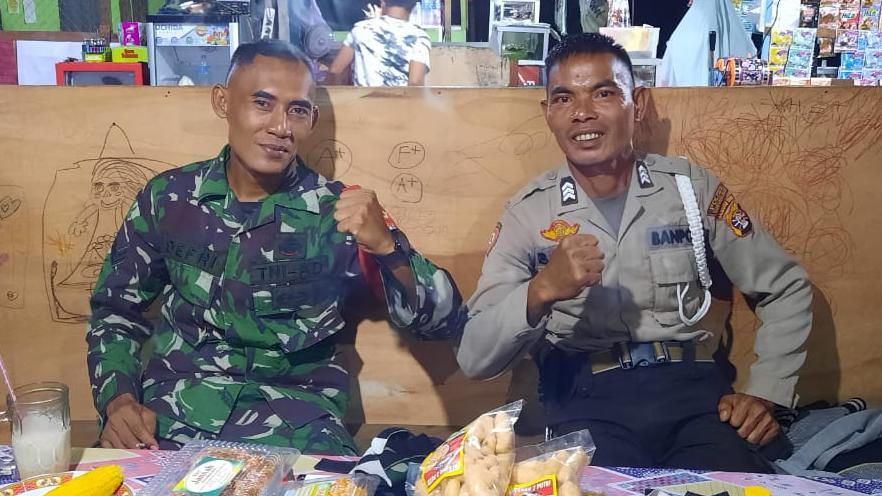 TNI DAN POLRI SELALU KOMPAK MENJALANKAN TUGAS 1