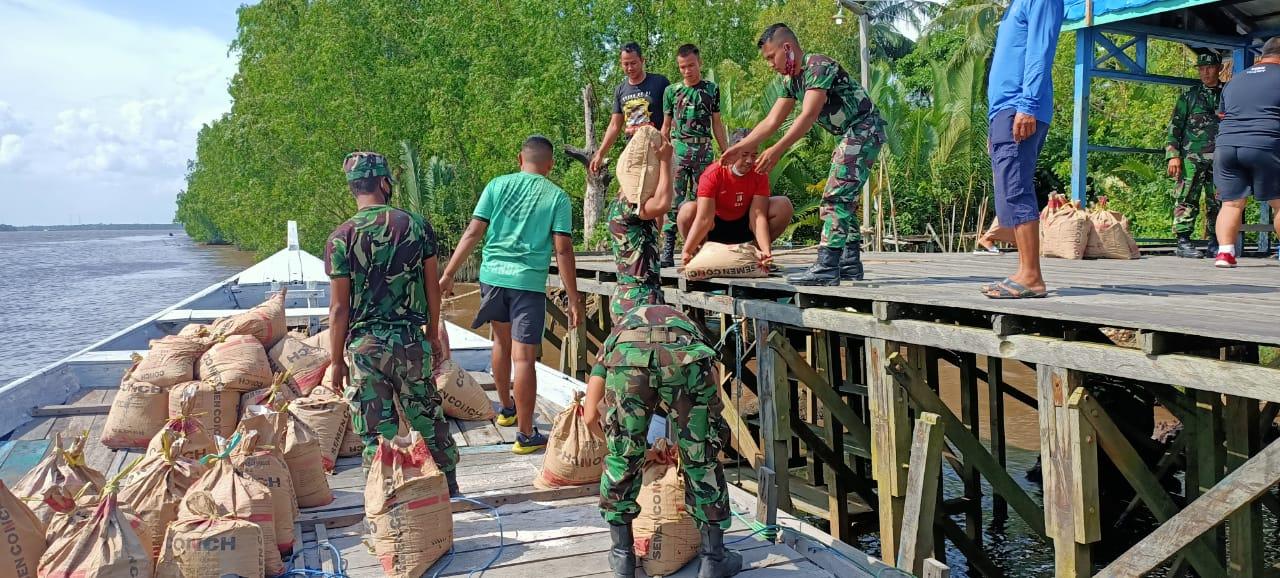 PRASASTI TMMD JADI SIMBOL KEMANUNGGALAN TNI DAN RAKYAT 1