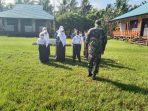 LATIH PBB SISWA SMP, SATGAS TMMD TANAMKAN SIFAT DISIPLIN YANG KUAT 2