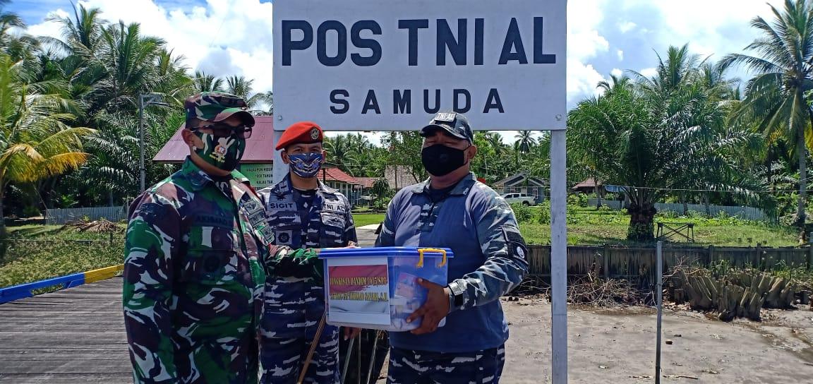 KOMANDAN POS TNI AL DUKUNG PENUH PROGRAM TMMD 1
