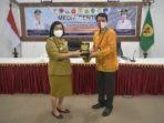 OMBUDSMEN REPUBLIK INDONESIA (RI) PERWAKILAN KALIMANTAN TENGAH BIROUM BERNARDIANTO KUNJUNGI GUMAS 4