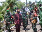 SELESAIKAN SASARAN FISIK TMMD, KARENA SEMANGAT DAN KEKOMPAKAN MASYARAKAT DAN TNI 5