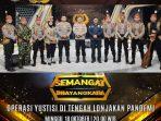 MERIAHKAN SEMANGAT BHAYANGKARA, TELABANG POLICE BAND POLDA KALTENG TAMPIL DI KOMPAS TV 6