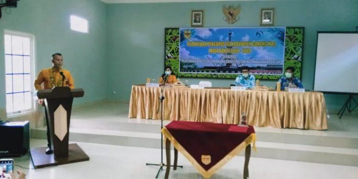 BUPATI GUMAS LANTIK ANGGOTA PENGURUS IGI 3
