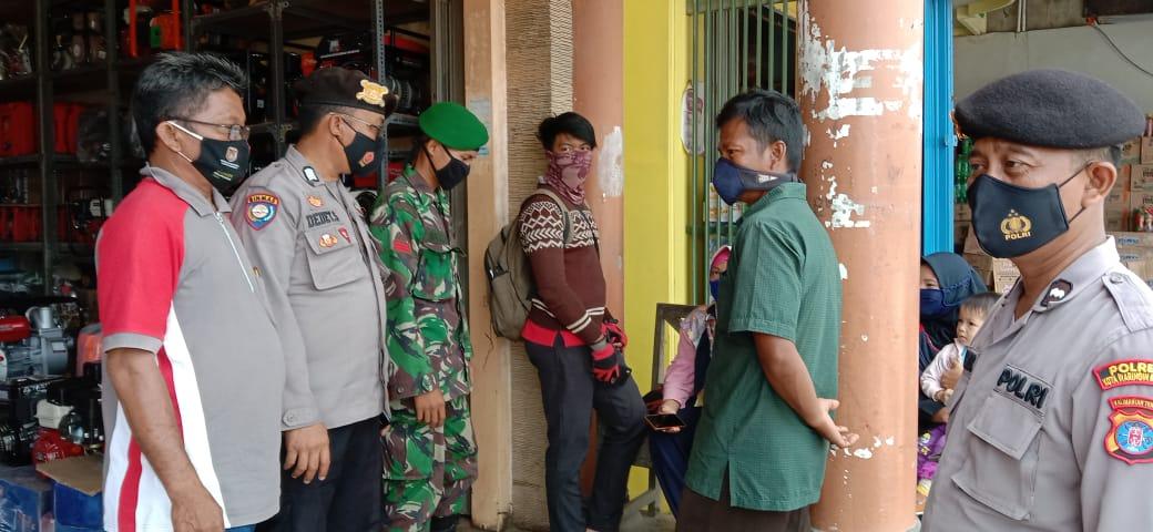 CEGAH COVID-19 TNI-POLRI AJAK MASYARAKAT TERAPKAN PROTOKOL KESEHATAN 1