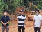BUPATI GUNUNG MAS, TINJAU PROYEK MULTIYEARS 11