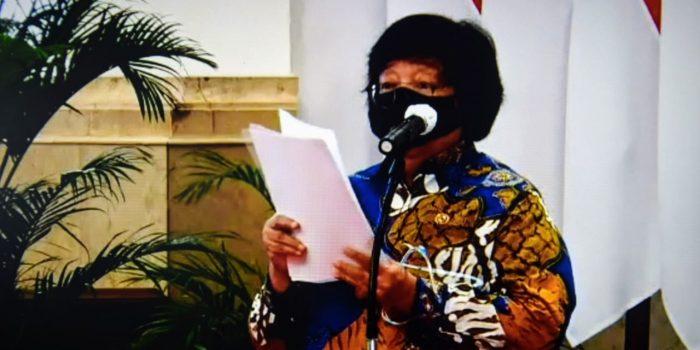 WAGUB KALTENG HADIRI ACARA PENYERAHAN VIRTUAL SK PERHUTANAN SOSIAL DAN TORA SE-INDONESIA 3