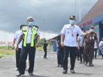 BUPATI GUNUNG MAS HADIRKAN PENERBANGAN SUSI AIR DI BANDARA KUALA KURUN 9