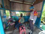 SAMBANGI PEMUKIMAN WARGA, PERSONEL POLSEK SEPANG BERIKAN SOSIALISASI TENTANG 3M 6