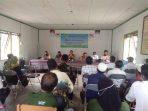 BHABINKAMTIBMAS DESA BAHAUR HILIR MENGHADIRI KEGIATAN MUSRENBANGDES TINGKAT DESA SEI PUDAK 5