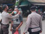 POLSEK KETAPANG LAKUKAN PENEGAKKAN PROTOKOL KESEHATAN DI BEBERAPA TEMPAT 6