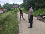 SINERGITAS TNI-POLRI SERTA PEMERINTAH DESA, POLSEK LAHEI GELAR OPS YUSTISI BERSAMA 3