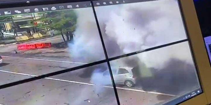 BOM BUNUH DIRI MELEDAK DI DEPAN KATEDRAL MAKASSAR, POLISI: ADA KORBAN JIWA DAN LUKA-LUKA 7