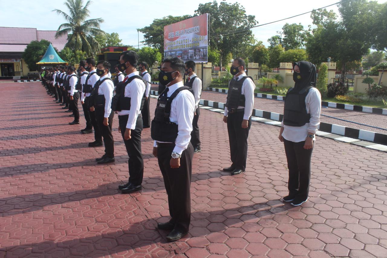 PERKUAT SINERGITAS POLRES SERUYAN DAN TNI JALIN KOMUNIKASI 1