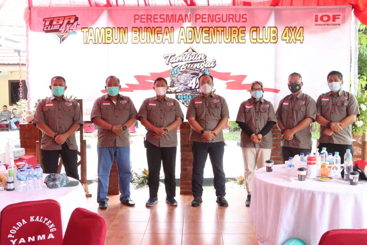 PERKUAT SINERGITAS, TNI-POLRI DAN FORKOPIMDA KALTENG BENTUK TBA CLUB 4x4 1