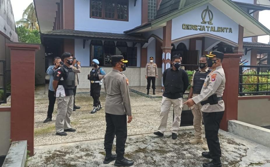 WARGA NASRANI PALANGKA RAYA UCAPKAN TERIMAKASIH KEPADA TNI POLRI 1