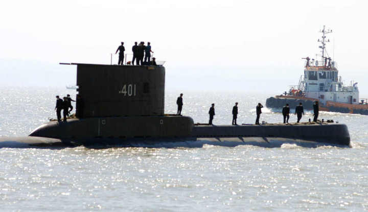BAWA 53 KRU, KAPAL SELAM NANGGALA-402 MASIH DALAM PENCARIAN 1
