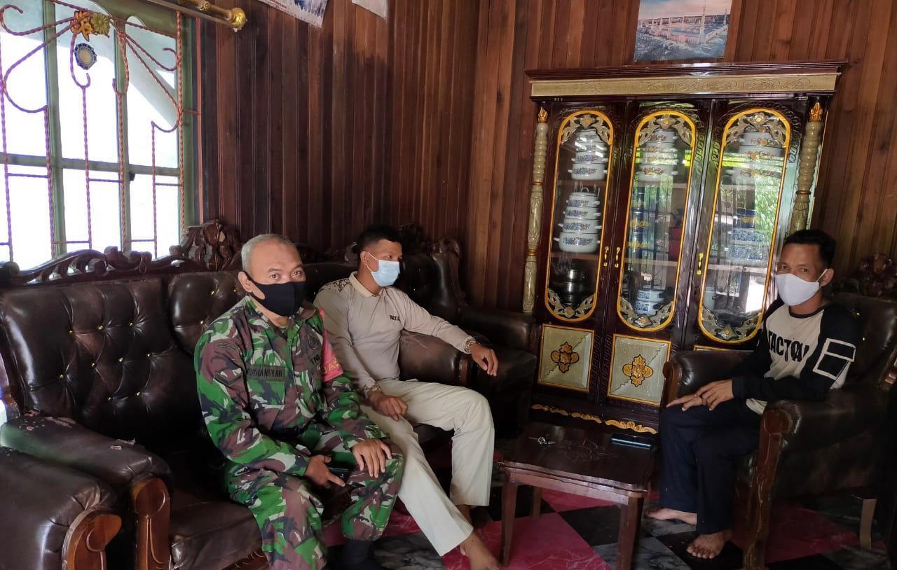 PASTIKAN AMAN DAN KONDUSIF, POLSEK DANAU SEMBULUH BERSAMA TNI DATANGO TOKOH - TOKOH BEPENGARUH 1