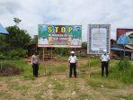 POSPOL TUMBANG DARAP POLSEK SERUYAN HULU PEMASANGAN SPANDUK STOP MEMBAKAR HUTAN DAN LAHAN 5