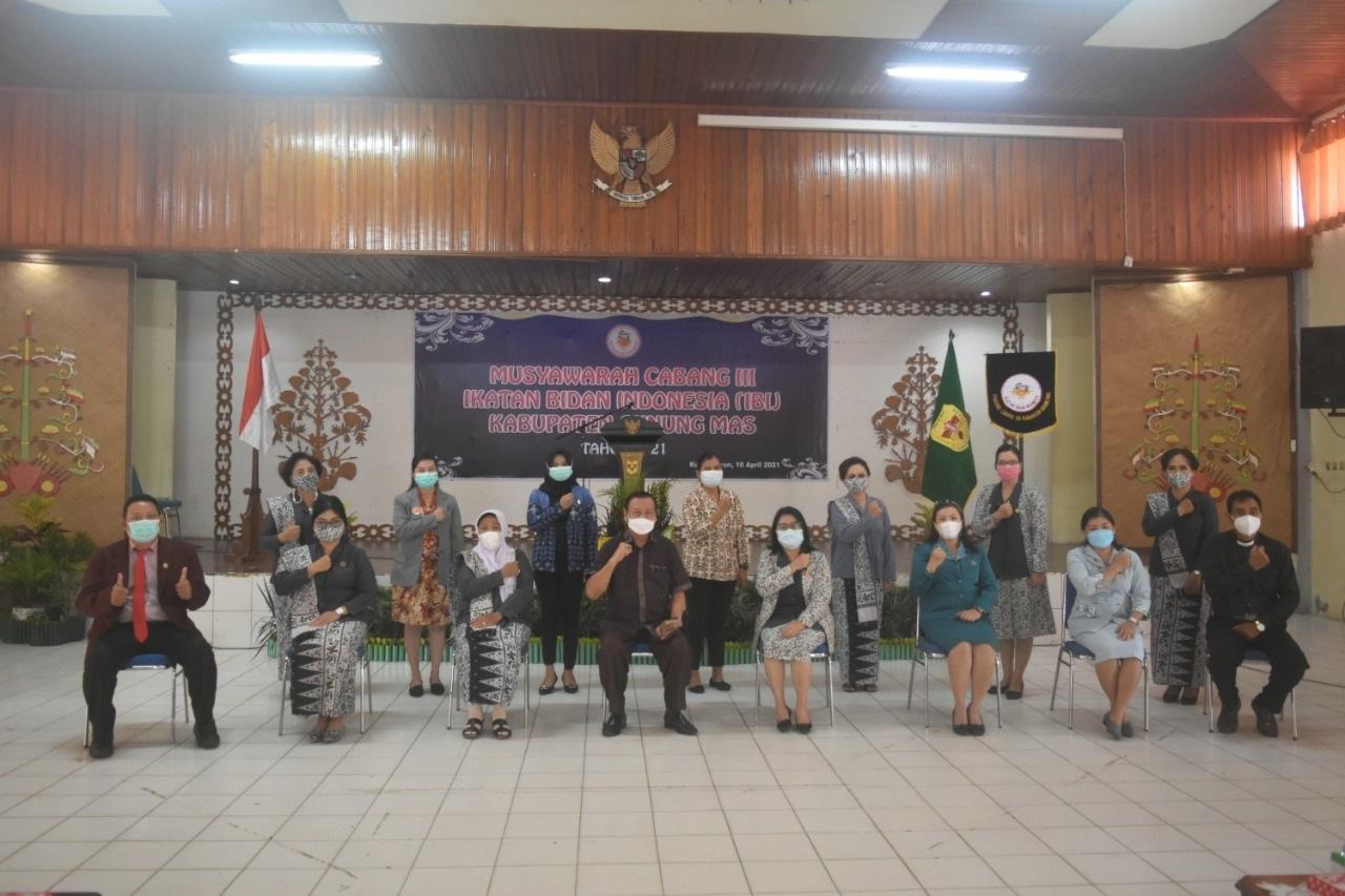 SEKDA GUMAS BUKA MUSCAB III IKATAN BIDAN INDONESIA 1