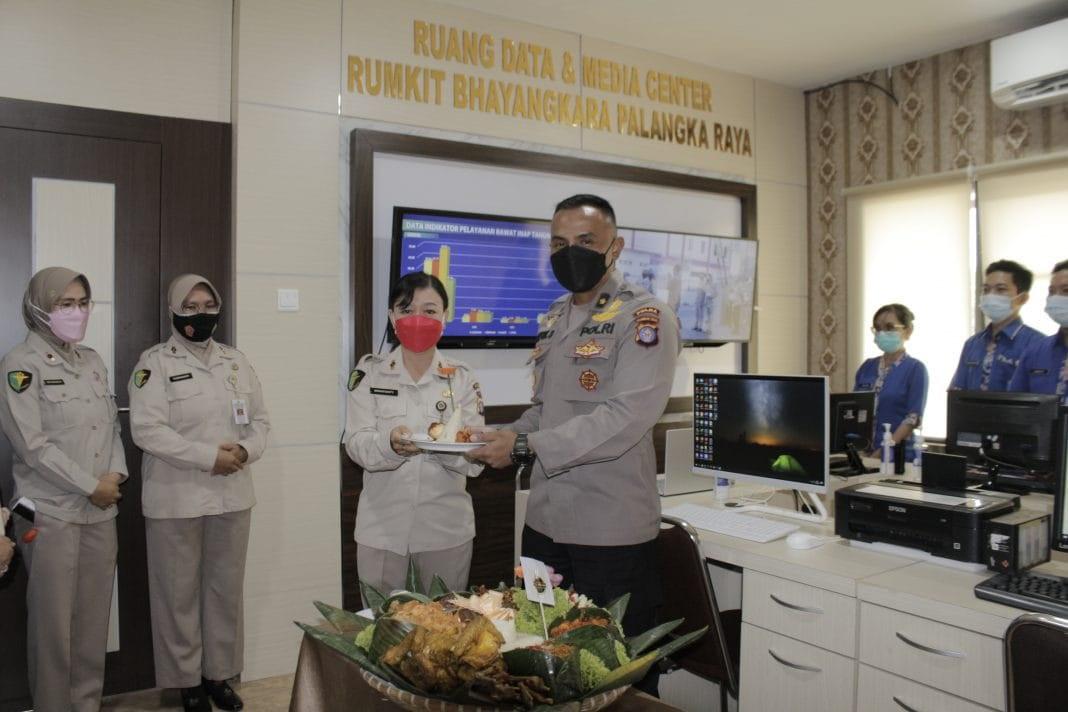 KARUMKIT BHAYANGKARA GELAR SYUKURAN OPERASIONAL RUANG DATA DAN MEDIA CENTER 1