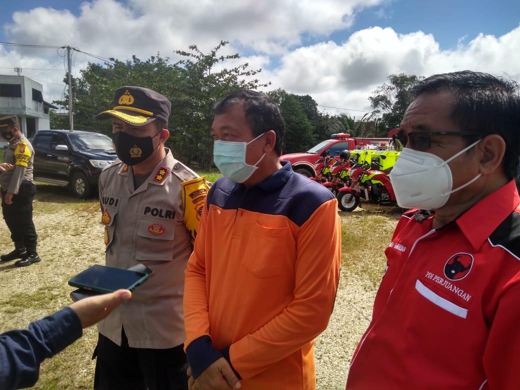 BPBD DAN POLRES GUMAS SAMBUT BAIK PARTISIPASI PARPOL DALAM TANGGULANGI KARHUTLA 1