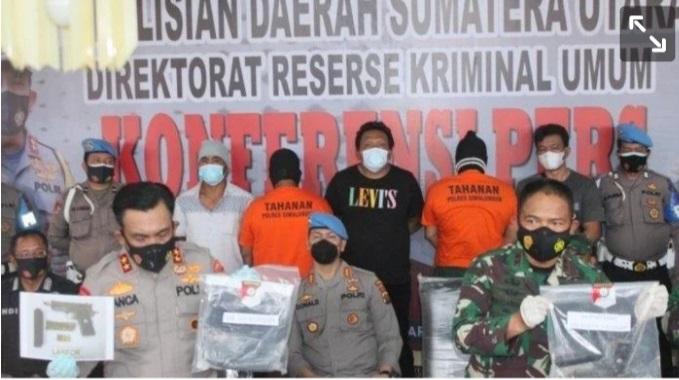 KASUS PEMBUNUHAN MARSAL, SEORANG LAGI OKNUM TNI DITANGKAP 1