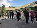 LETTU CZI PANCA SETIAWAN : MATERI LATIHAN PBB LATIH MAHASISWA DISIPLIN 4