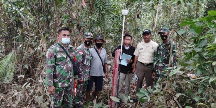 ZIDAM XII/TPR DAN BPN DATA TANAH TNI AD 6