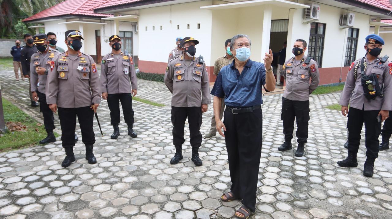 PANTAU PERLUASAN RUMKIT BHAYANGKARA, KAPOLDA : MINGGU DEPAN OPERASIONAL 1
