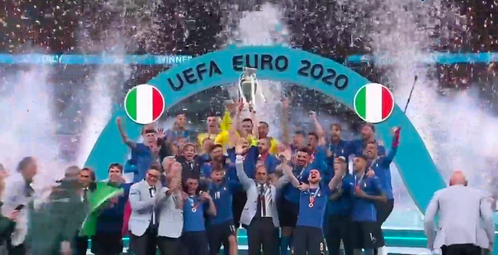 ITALIA JUARA EURO 2020, INGGRIS MENANGIS 1