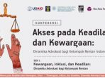 KONFERENSI DINAMIKA ADVOKASI KELOMPOK RENTAN INDONESIA 7