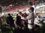 TIDAK PERNAH BOSAN POLRES SERUYAN MENGHIMBAU MASYARAKAT AGAR MEMATUHI PROKES 4