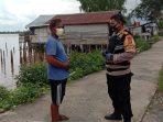 Ditengah Masyarakat Yang Sedang Beraktivitas , Polsek Kapuas Kuala Lakukan Ops Yustisi 12