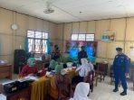 Pelaksanaan Vaksinasi Di SMP 3, Terus Dimonitor Oleh Personel Polres Sukamara 3