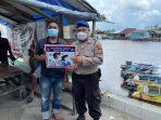 Gencar Ajak Dan Imbau Warga Patuhi Prokes, Satpolairud Sukamara Melakukan Sosialisasi 5