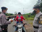 Personel Polsek Pulau Petak Konsisten Tegakan Ops Yustisi 5