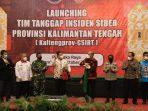 WAGUB KALTENG HADIRI PELUNCURAN TIM TANGGAP INSIDEN SIBER 5